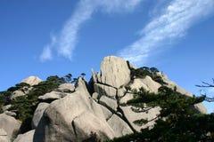 Montanha rochosa Fotografia de Stock