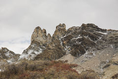 Montanha rochosa imagens de stock royalty free