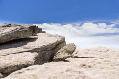 Montanha rochosa Fotografia de Stock Royalty Free
