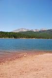 Montanha roxa Foto de Stock Royalty Free