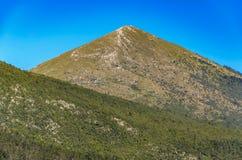 Montanha Rtanj na Sérvia Foto de Stock Royalty Free