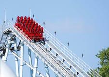 Montanha russa Fotografia de Stock Royalty Free