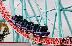 Montanha russa de pressa Fotografia de Stock