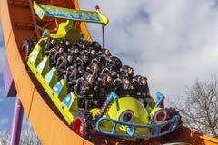 Montanha russa do piloto de Rc em Disneylândia Paris imagem de stock royalty free