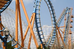 Montanha russa Loopy Imagem de Stock Royalty Free