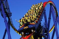 Montanha russa no ponto do cedro Fotografia de Stock Royalty Free