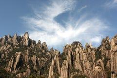 Montanha sanqing do monte da província de China jiangxi Fotos de Stock Royalty Free