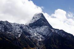 Montanha santamente em tibet Imagens de Stock