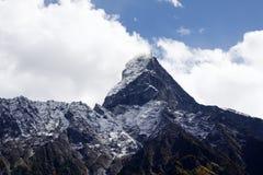 Montanha santamente em tibet Fotos de Stock