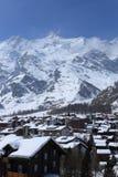 Montanha Scenics Foto de Stock Royalty Free