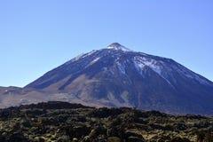 Montanha Teide em Tenerife, Ilhas Canárias, Espanha Fotografia de Stock