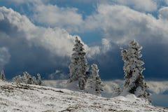 Montanha tormentoso Fotos de Stock Royalty Free