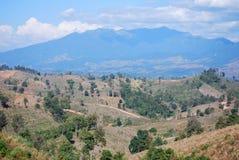 Montanha Treeless Fotografia de Stock