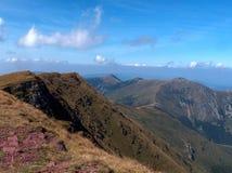 Montanha velha - maciço de Balcãs foto de stock royalty free