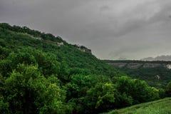 Montanha verde Foto de Stock
