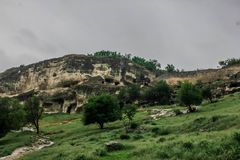 Montanha verde Imagem de Stock