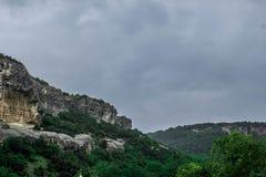 Montanha verde Imagens de Stock