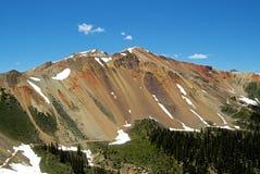 Montanha vermelha Foto de Stock Royalty Free