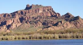 Montanha vermelha Imagem de Stock