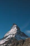 Montanha vertical Imagens de Stock Royalty Free