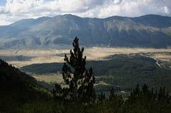 Montanha Vran em Bósnia & em Herzegovina Imagem de Stock