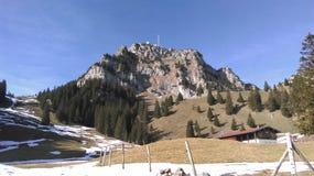 A montanha Wendelstein fotografia de stock royalty free