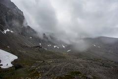 Montanha Yakimpahchorr imagem de stock