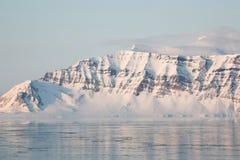 Montanhas árticas Fotografia de Stock