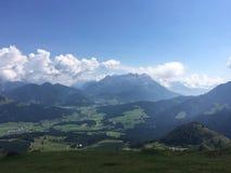 Montanhas Áustria Fotografia de Stock