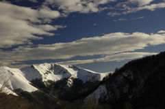 Montanhas 05 Foto de Stock Royalty Free
