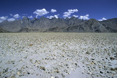 Montanhas 1 de Paquistão Foto de Stock Royalty Free