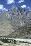 Montanhas 9 de Paquistão Imagem de Stock Royalty Free