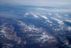 Montanhas aéreas Foto de Stock Royalty Free