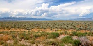 Montanhas além do vale de Idaho Imagem de Stock
