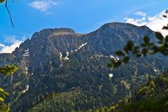Montanhas alpinas imagens de stock