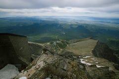 Montanhas altas máximas de Lomnica Tatras de Eslováquia imagem de stock royalty free