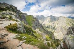 Montanhas altas maravilhosas de Tatras Imagem de Stock