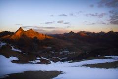 Montanhas andinas imagens de stock