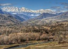 Montanhas armênias Fotografia de Stock