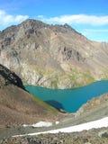Montanhas asiáticas centrais de Tien Shan fotos de stock
