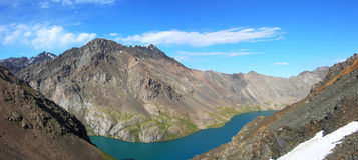 Montanhas asiáticas centrais de Tien Shan foto de stock royalty free