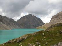 Montanhas asiáticas centrais de Tien Shan imagens de stock