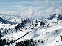 Montanhas austríacas dos alpes Fotografia de Stock
