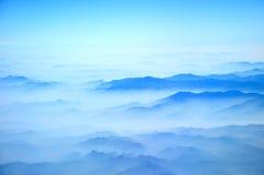 Montanhas azuis Imagens de Stock