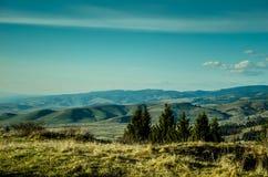 Montanhas azuis Fotografia de Stock Royalty Free