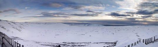 Montanhas azuis panorâmicos Imagem de Stock