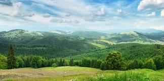 Montanhas bonitas imagens de stock