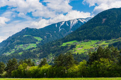 montanhas bonitas Fotos de Stock Royalty Free
