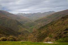 Montanhas bonitas, EL Bierzo imagem de stock