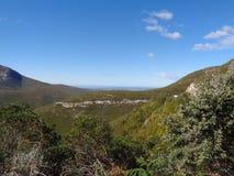 Montanhas bonitas Kleinpaas, Oudtshoorn África do Sul Fotos de Stock